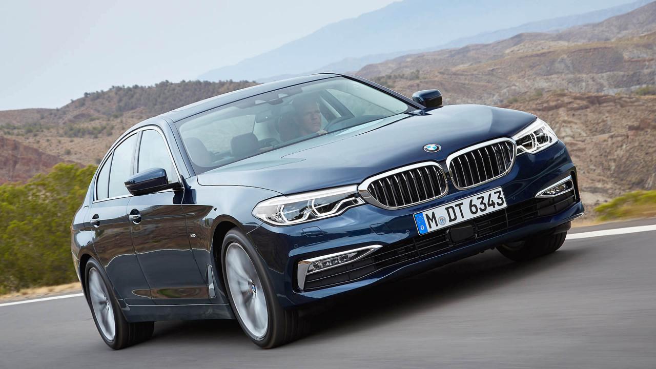 BMW 5er Limousine: 4,94 Meter