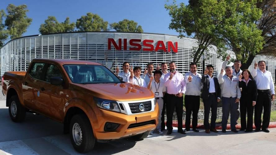 Nissan produz primeira unidade da picape Frontier na Argentina