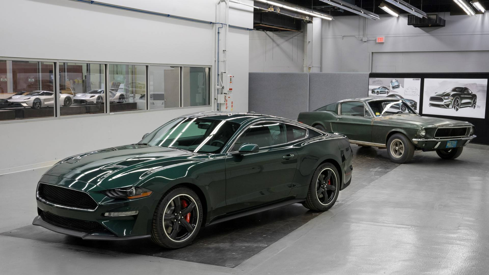 Original mustang from bullitt added to historic vehicle register