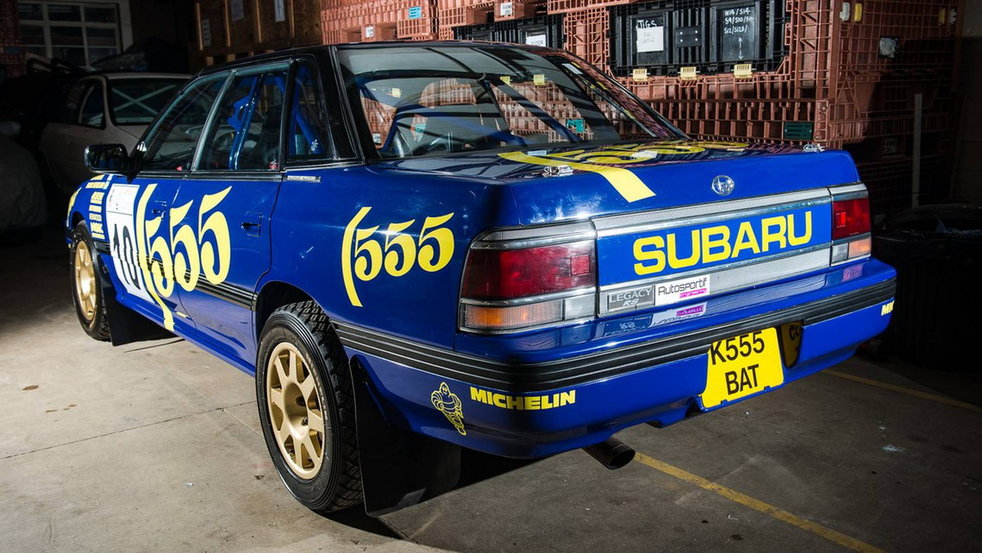 1993 Subaru Legacy Rs Group A Ex Prodrive Rally Car For Sale 2840855