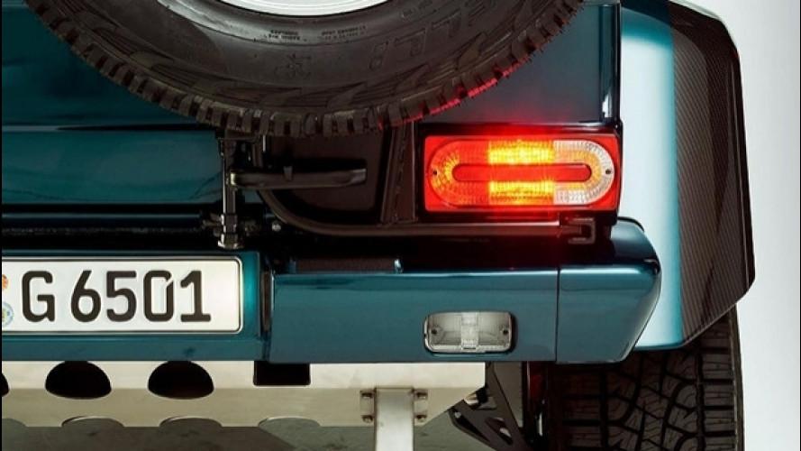 Mercedes-AMG G 65 4x4², il teaser della cabrio