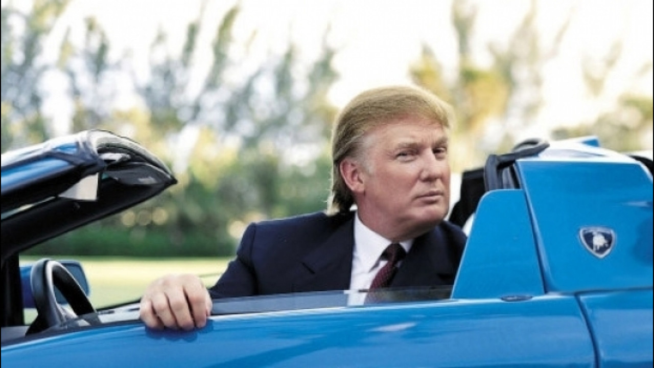 [Copertina] - Donald Trump, tutte le auto del Presidente