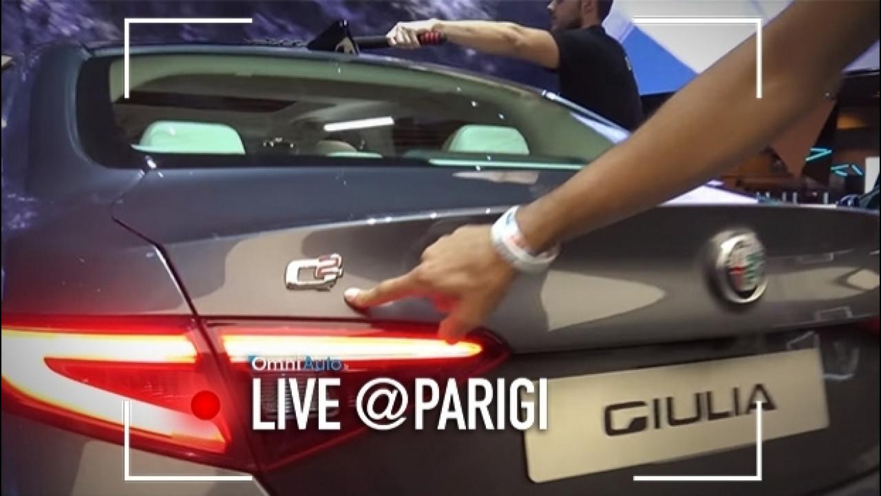 [Copertina] - Salone di Parigi, l'Alfa Giulia Q2 ha l'autobloccante [VIDEO]