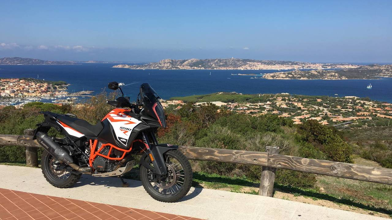 KTM Adventure Rally 2018 Cerdeña