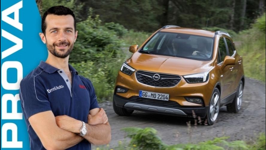 Opel Mokka X, nuovo volto, tanta tecnologia in più [VIDEO]