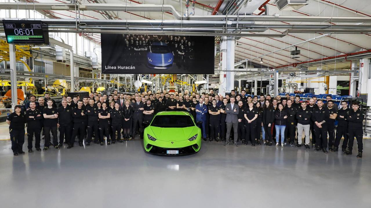 Lamborghini Huracan production milestone
