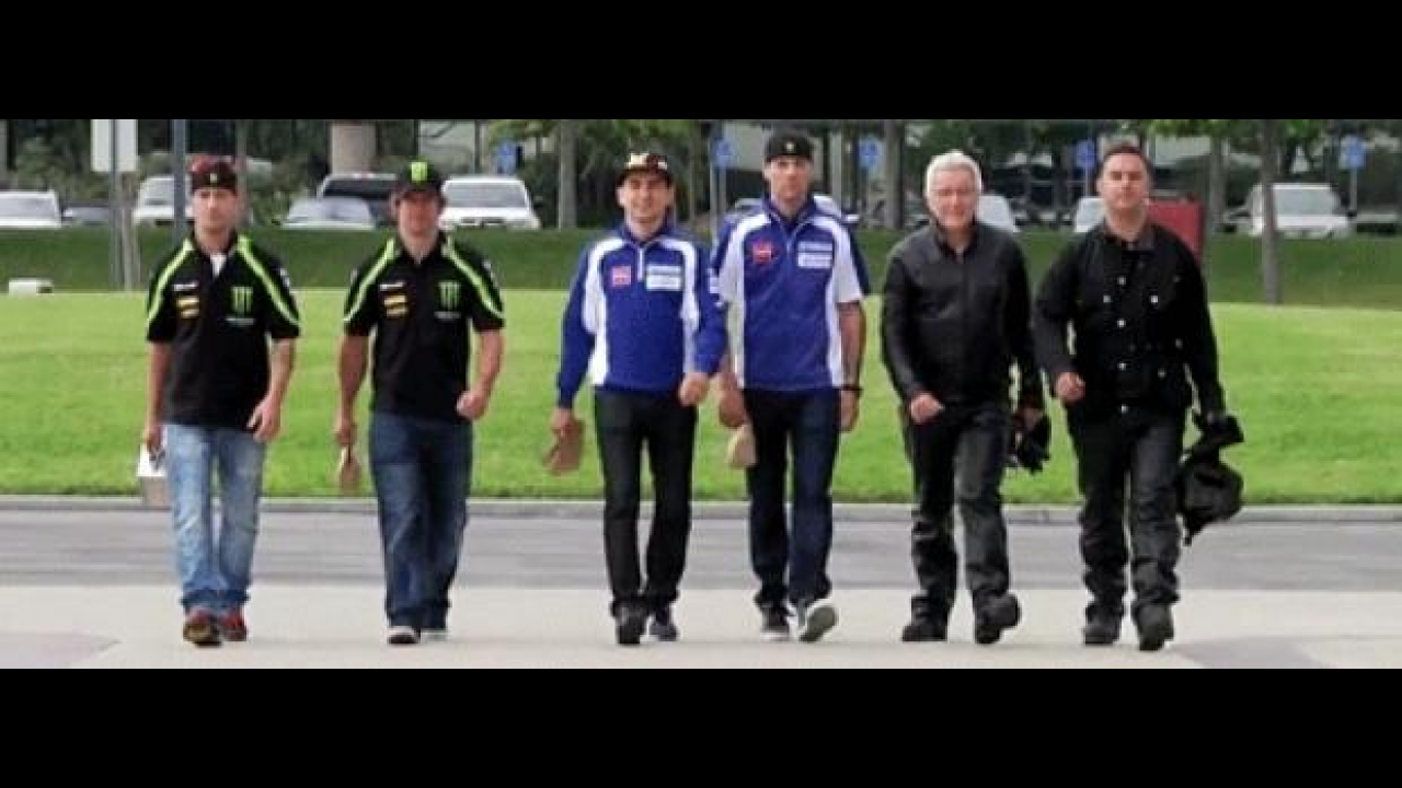 Yamaha MotoGP 2012 - Another Day at the Office