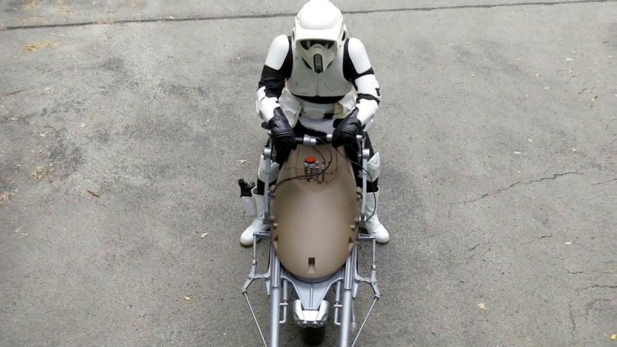 Star Wars, una Speeder Bike sulle strade americane