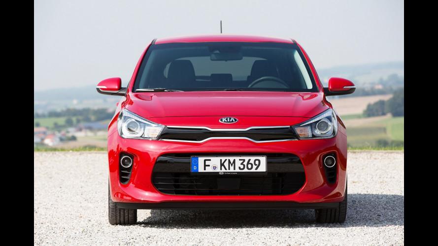 Nuova Kia Rio, sfida la concorrenza a partire da 13.100 euro