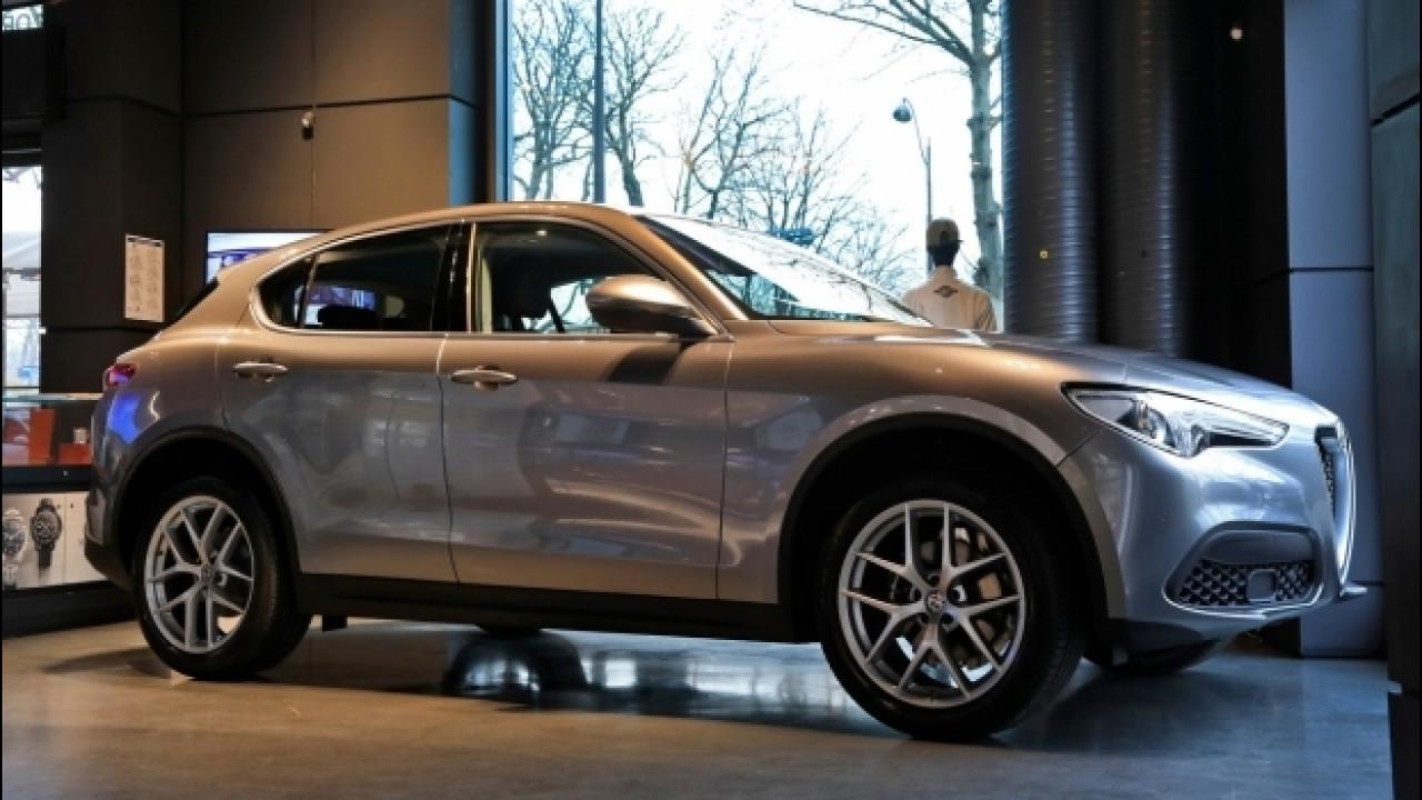[Copertina] - Alfa Romeo Stelvio è già in mostra a Parigi