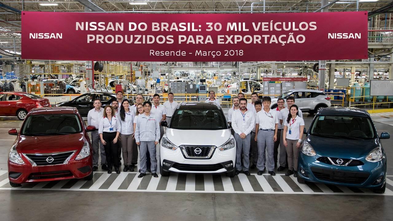 Nissan - 30 mil carros para exportação