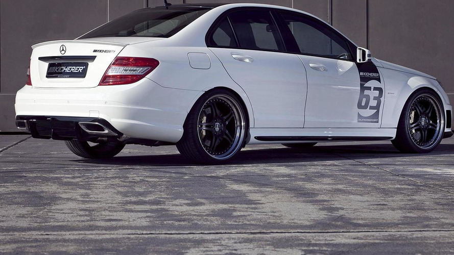 Mercedes C63 AMG White Edition by Kicherer