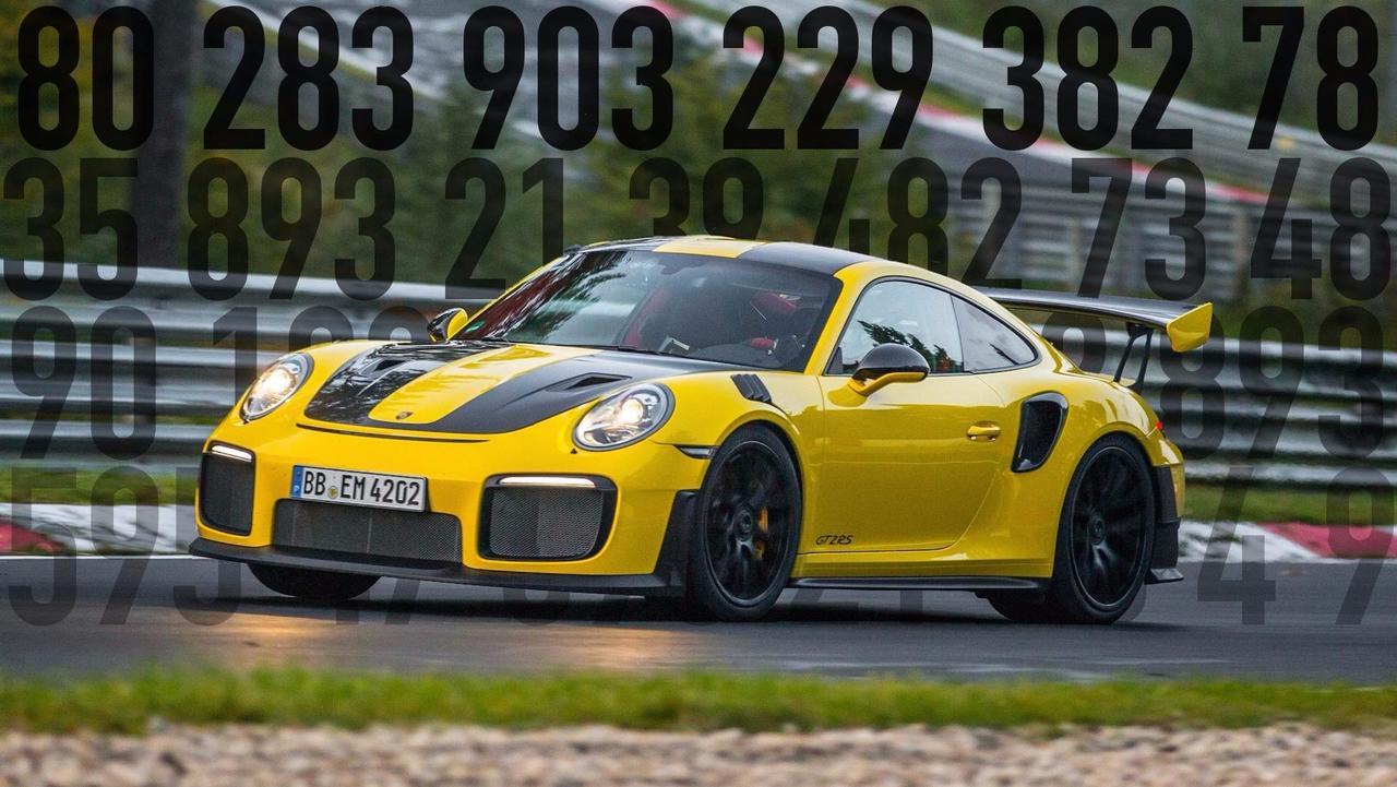 Motor Math Porsche 911 GT2 RS