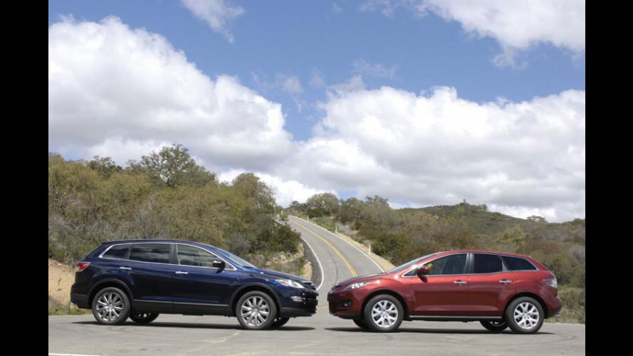 Mazda CX-9: CX-7 + 2 posti...