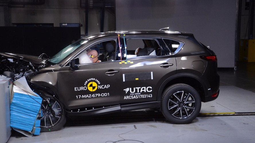 Six voitures obtiennent cinq étoiles au crash test
