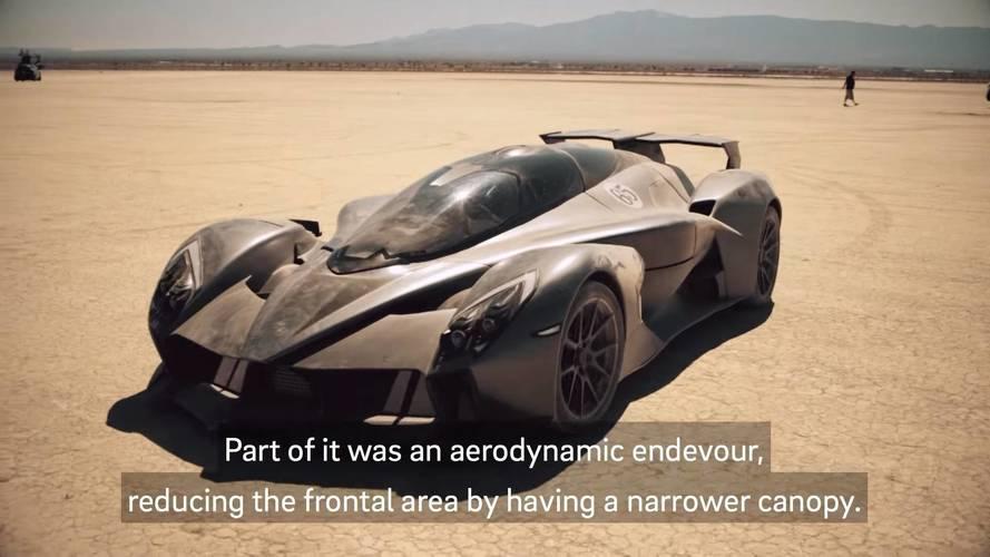 Tachyon Speed, un avión de combate para el asfalto