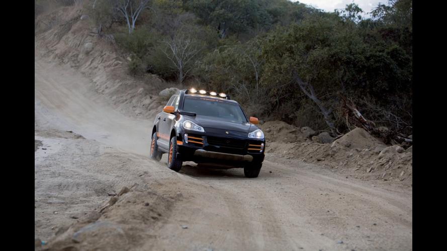 La Porsche Cayenne per la Transiberiana