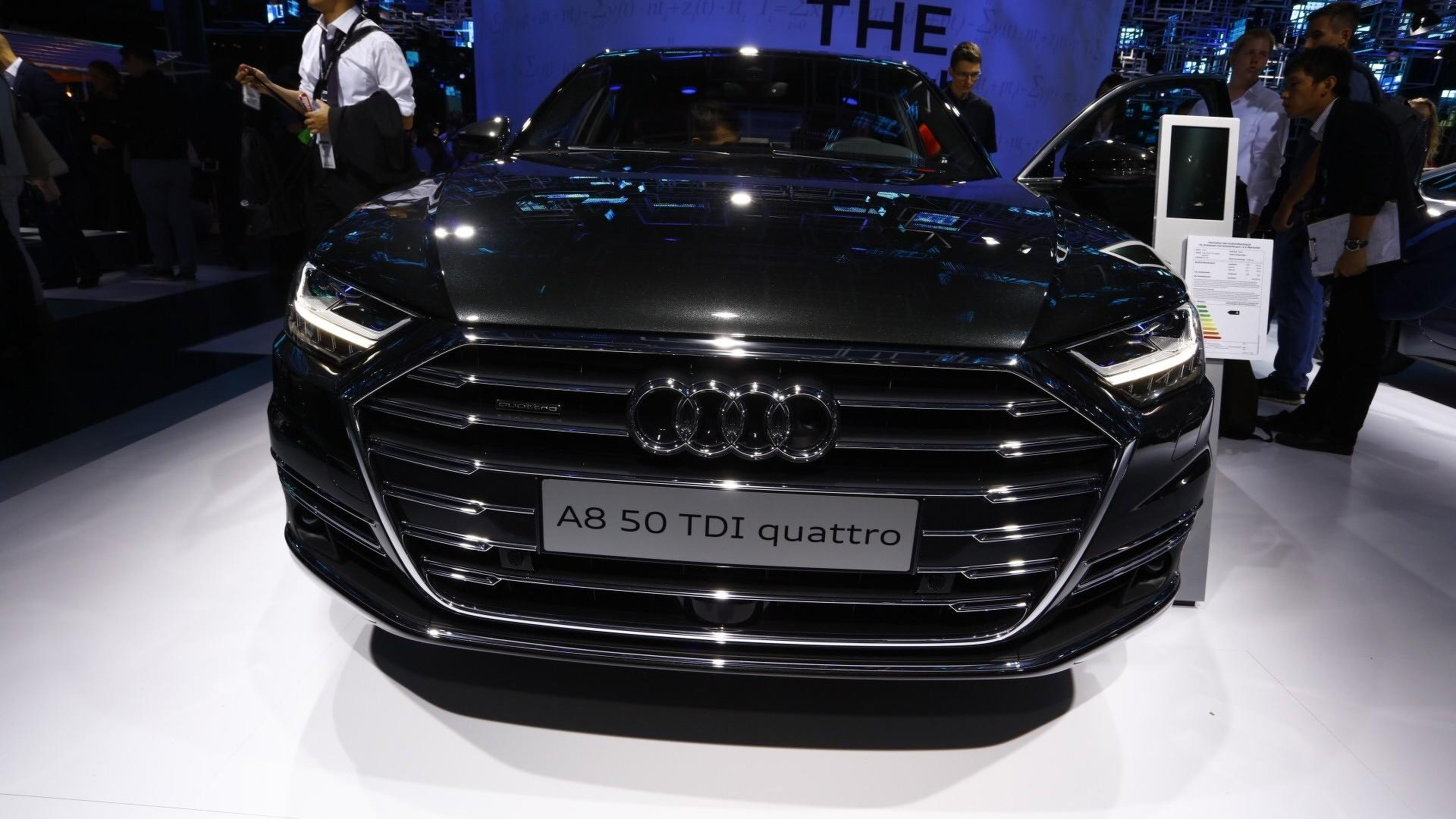 2018 Audi A8 Has Lasers Foot Massagers And A Big Price Tag Oem Wheels Database