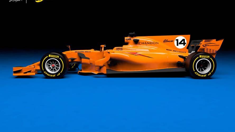 Vídeo: así podría lucir el McLaren-Renault de 2018
