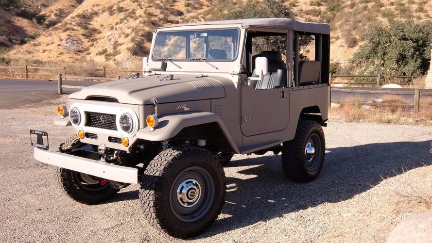 Icon Debuts Old School Toyota FJ40 With New-School Upgrades