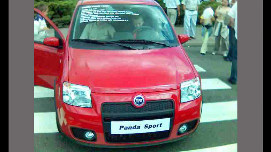 Fiat Panda Sport: le foto da Tychy...