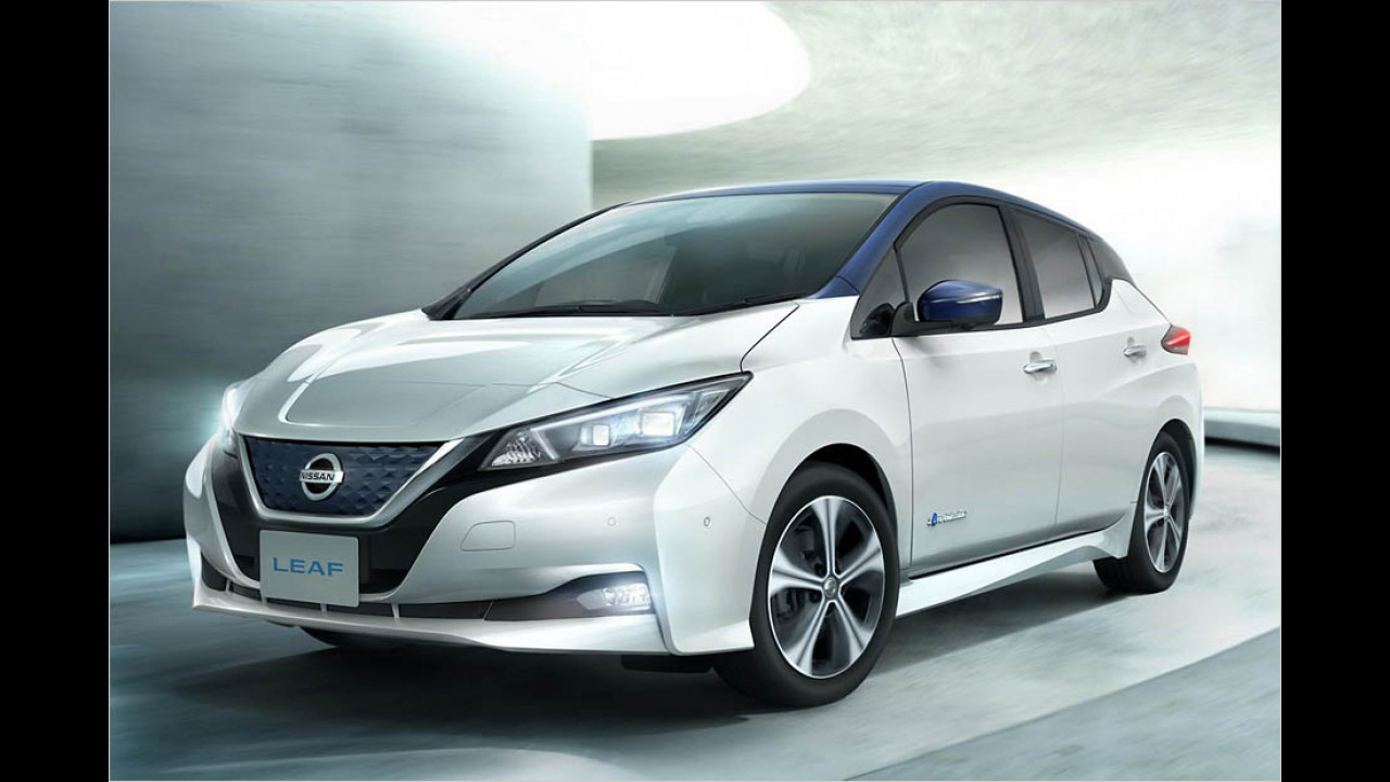 Nissan Leaf: 378 km