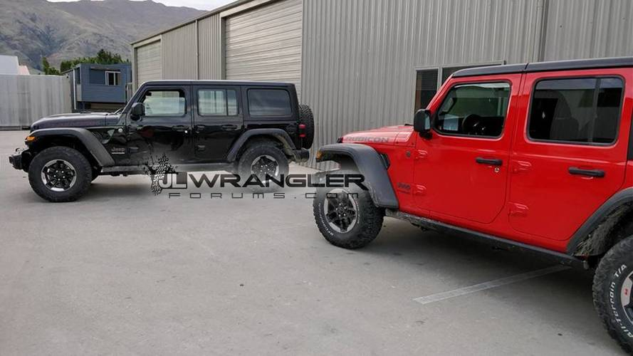 2018 Jeep Wrangler Unlimited Rubicon real images
