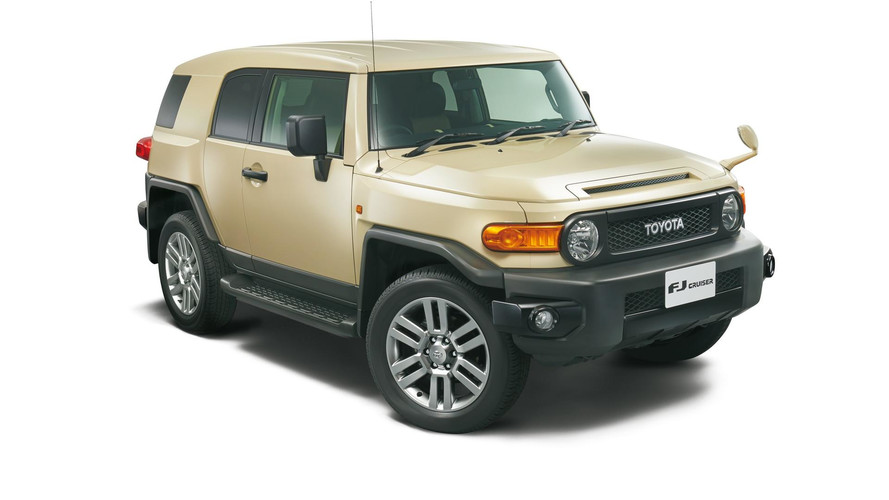 Toyota Bids Adieu To FJ Cruiser With Final Edition