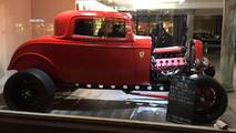 1932 Ford with Ferrari biturbo engine