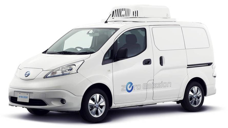 Nissan Paramedic Concept and e-NV200 Fridge Concept