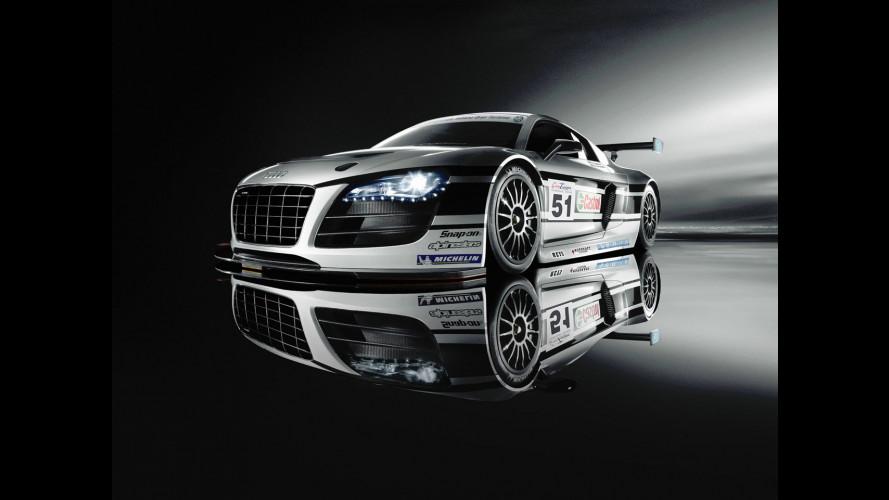 Nuova Audi R8 LMS