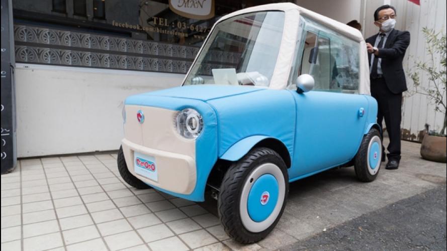 Auto elettrica: l'idea più folle arriva dal Giappone, ma non sottovalutatela