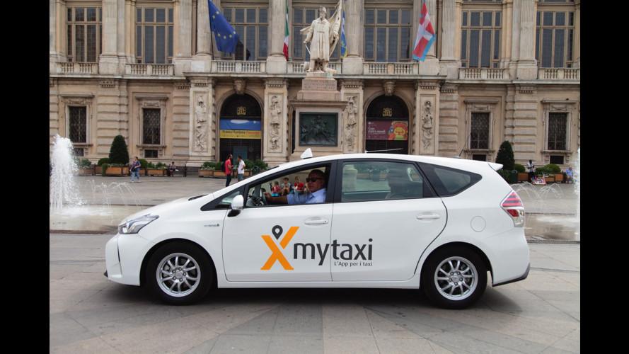 mytaxi arriva a Torino, dopo Milano e Roma