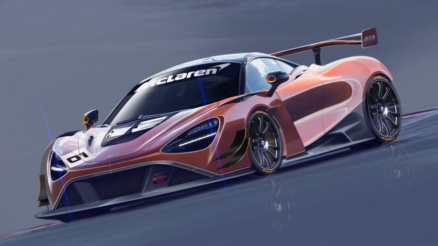 McLaren i primi disegni della nuova 720S GT3