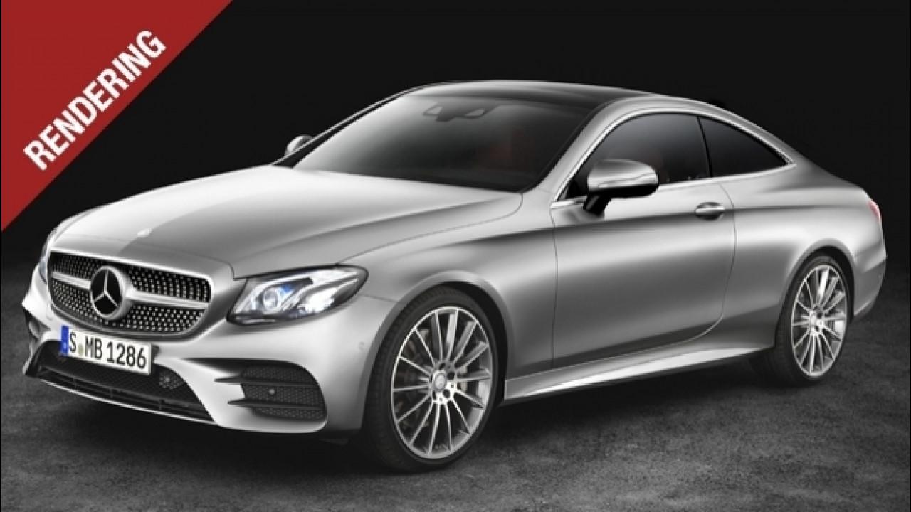 [Copertina] - Nuova Mercedes Classe E Coupé, pronta a stupire