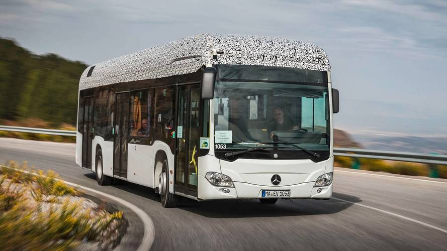 Mercedes-Benz Hints All-Electric Citaro In Late 2018