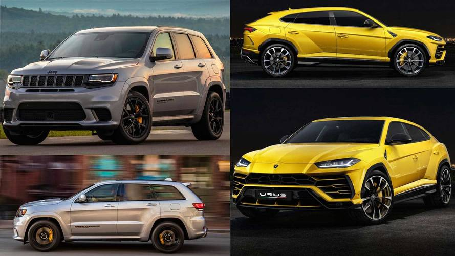 Urus vs Grand Cherokee Trackhawk - Plus proches qu'on ne le croit