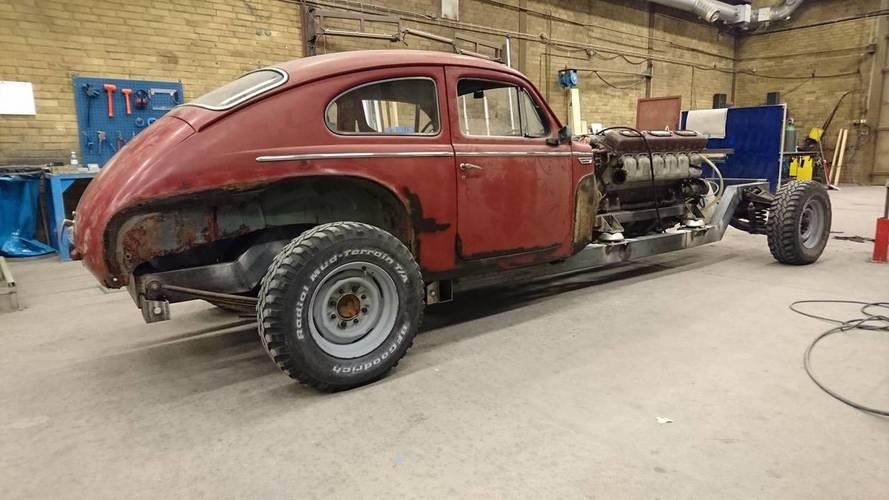 Volvo Tank Car