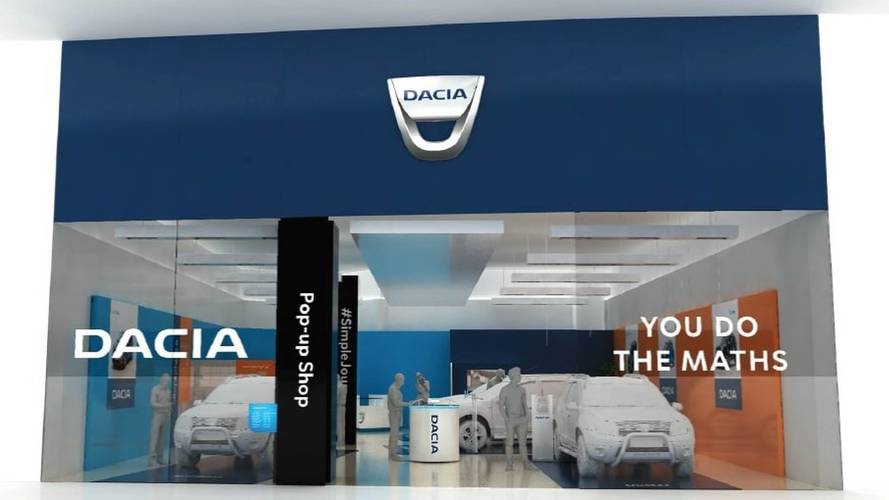 Dacia opening pop-up store in Stratford