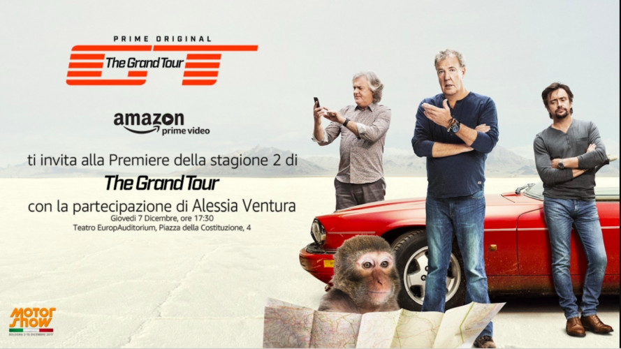 "The Grand Tour, la ""prima"" al Motor Show il 7 dicembre"