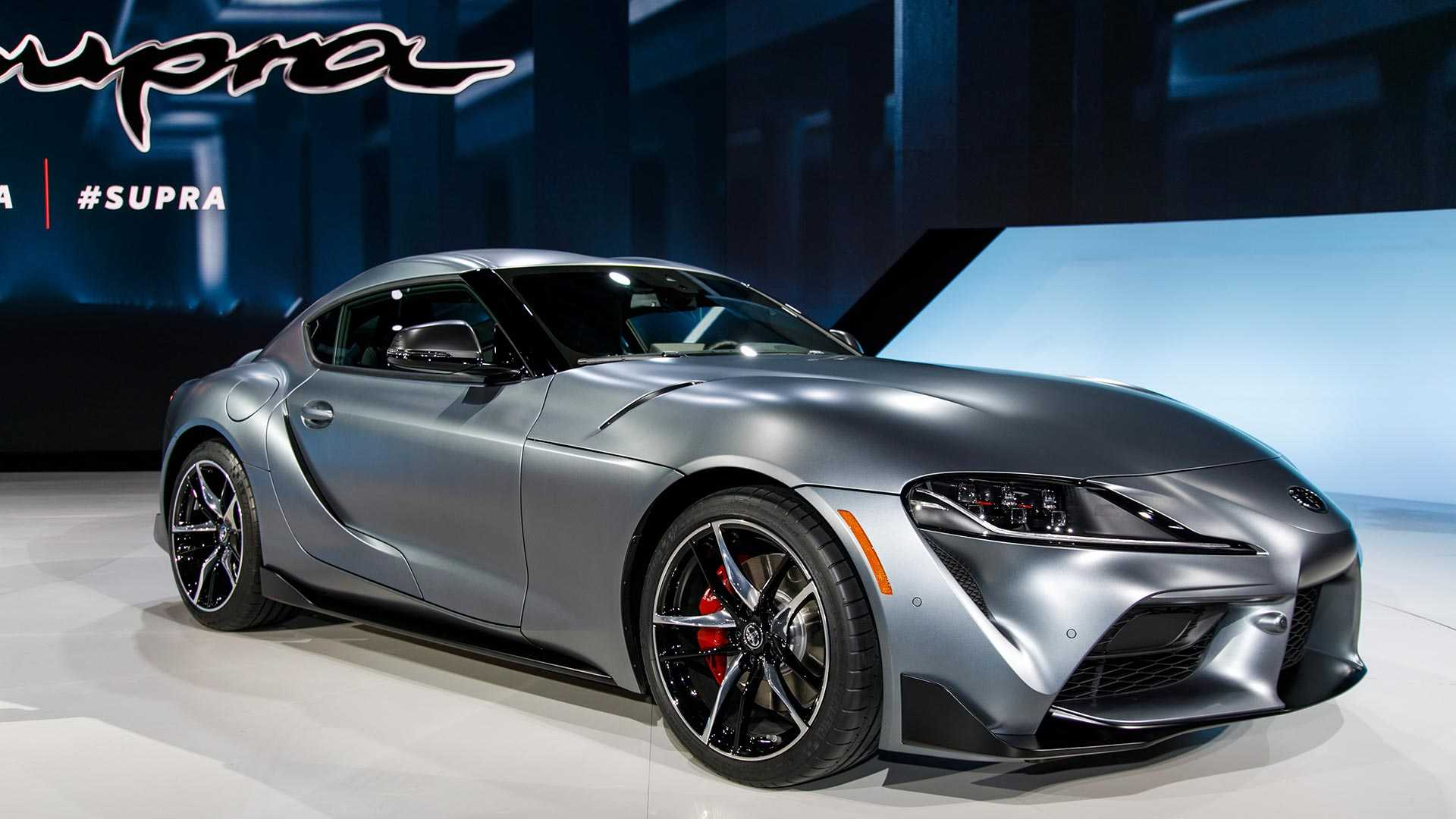 2020 Toyota Supra Offers Four Cylinder Sz Model In Japan