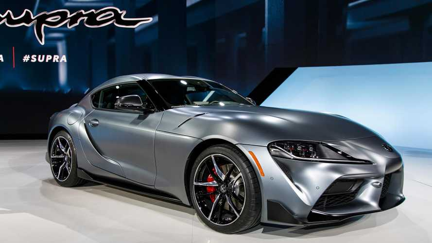 2020 Toyota Supra colour options revealed