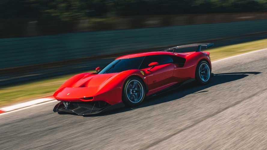 Ferrari P80/C - Descendante d'une lignée exceptionnelle