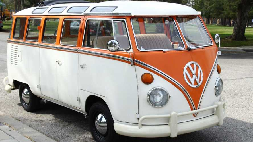 This 1965 Volkswagen Bus/Vanagon Is The Grooviest Family Hauler