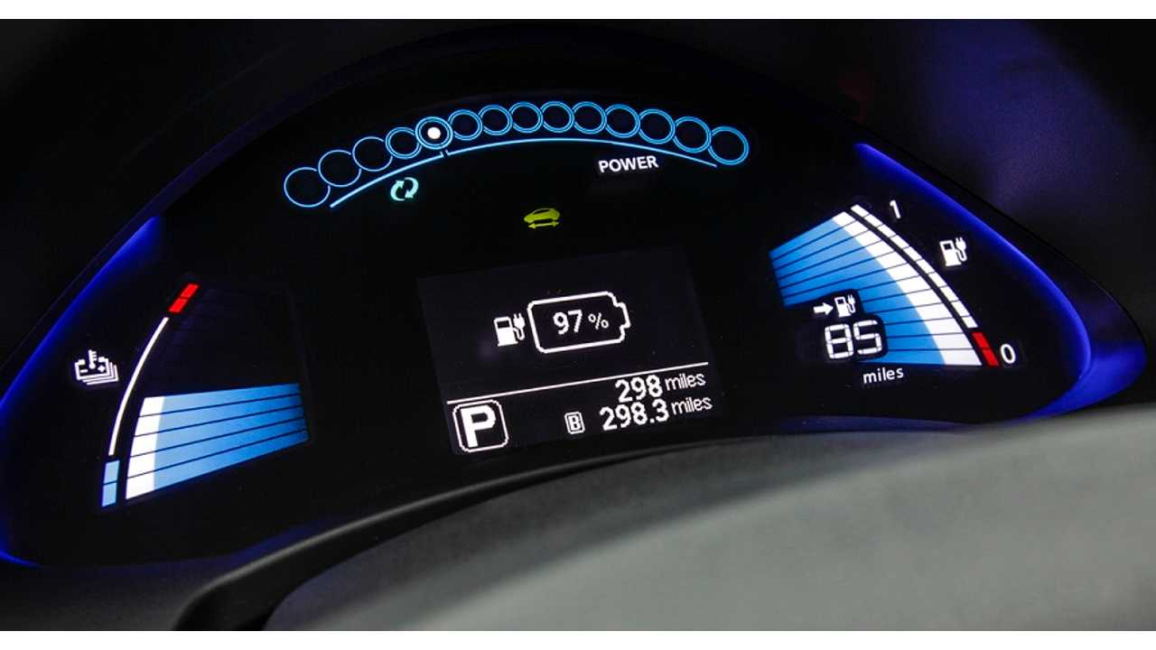 While the 2011/2012 Nissan LEAF Will Get A Software Update To Make Gauges More Accurate, It Will Not Receive The Percentage State Of Charge Dash Read-Out