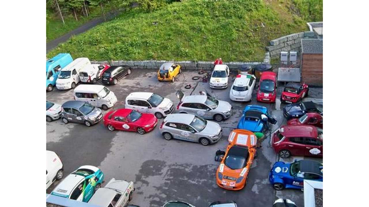 Wave 2013 Electric Vehicle Rally Draws Record Number of Participants in Europe