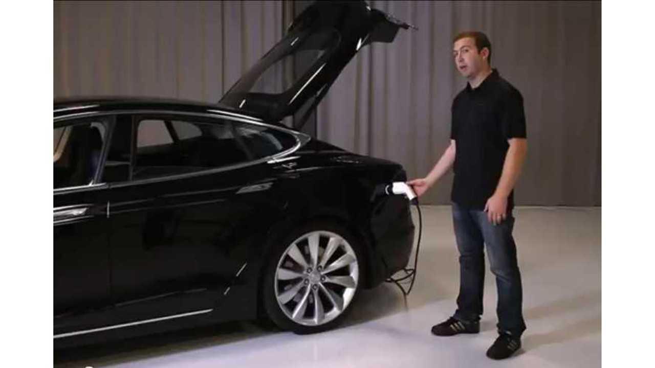 model s charging options