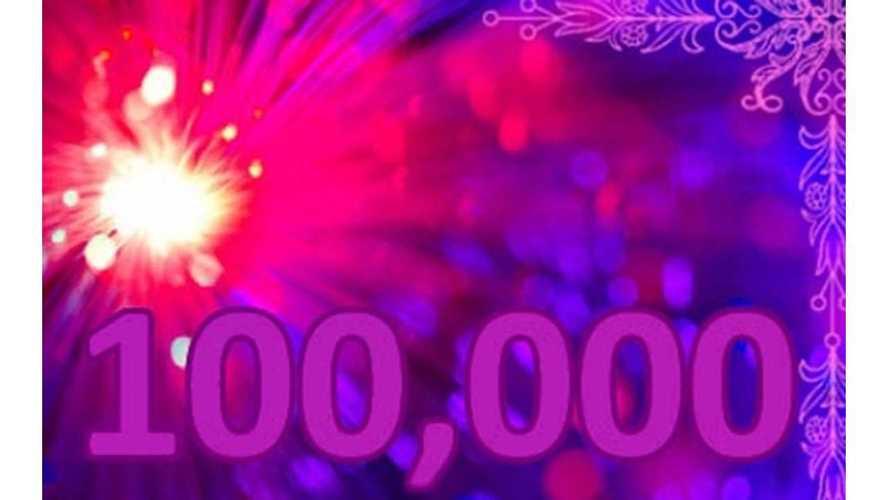 Plug-In Vehicle Sales in US Roll Past 100,000 Unit Milestone