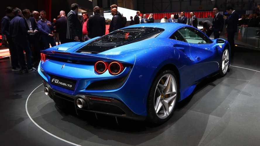Ferrari en el salón de Ginebra 2019