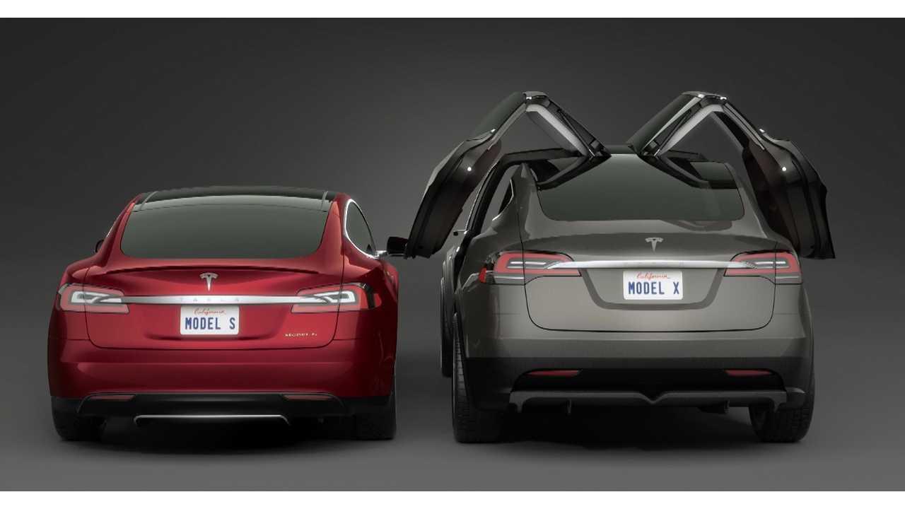 Tesla Model X Is World's Only Falcon Door Vehicle